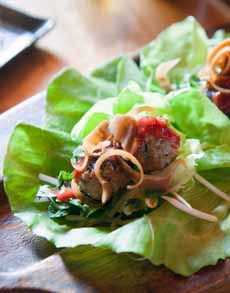 Foie Gras Stuffed Meatballs