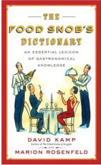 Food Snob Dictionary