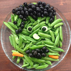 Halloween Raw Vegetables