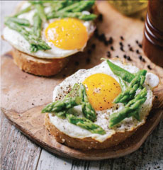 Fried Eggs On Toast