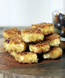 Fried Feta Cheese