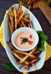 French Fries Sriracha Mayo