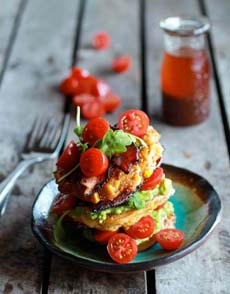 Stacked Fritters