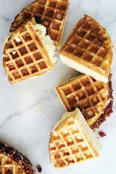 Breakfast Ice Cream Sandwiches