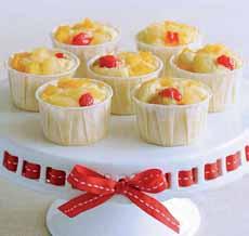 Fruit Cocktail Cupcakes