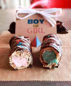 Gender Reveal Cannoli