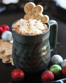 Cocoa With Gingerbread Man