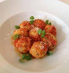 Gnudi In Tomato Sauce