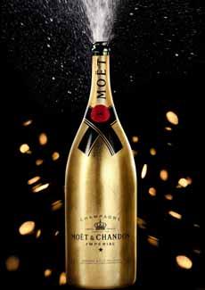 Moet & Chandon Gold Bottle