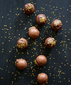 Lindt Truffles With Sprinkles