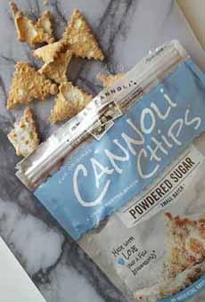 Golden Cannoli Chips