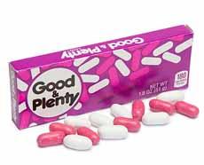 Good & Plenty Box