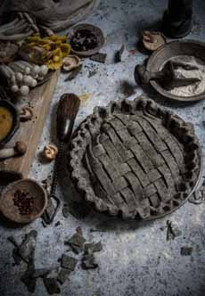 Goth Food - Black Pot Pie