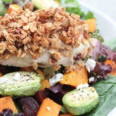 Granola Coated Chicken