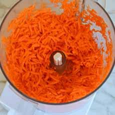 Carrots - Food Processor