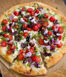 Greek Pizza Toppings