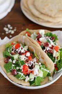 Greek Salad Sandwich