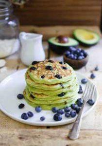 Green Pancakes Recipe