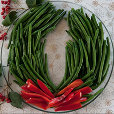 Green Bean Wreath