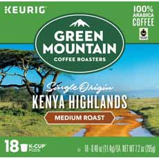 Green Mountain Kenya Highlands Coffee