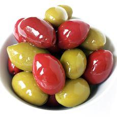 Red & Green Cerignola Olives