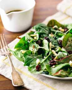 Salad With Balsamic Glaze