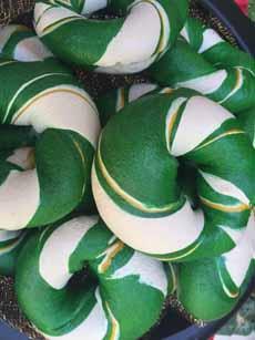 Green Bagels