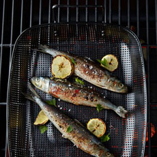 Grilled Fish In Grill Pan