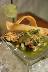 Ceviche Grilled Lime