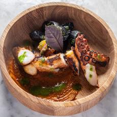 Fancy Grilled Octopus