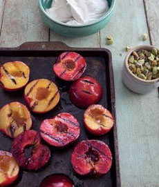 grilled-plums-peaches-healthyinahurrybook