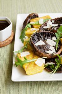 Grilled Mushrooms & Beer