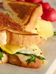 Gruyere Grilled Cheese