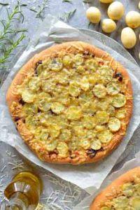 Gruyere Pizza