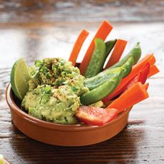 Guacamole With Crudites