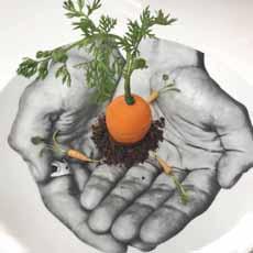La Carrotte L'Atalier Joel Robuchon NYC