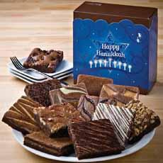 Chanukah Brownies