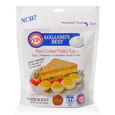 Eggland's Best Peeled Hard-Boiled Eggs