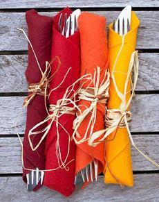 Thanksgiving Napkin Fold