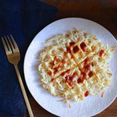 Waffled Hash Brown Potatoes