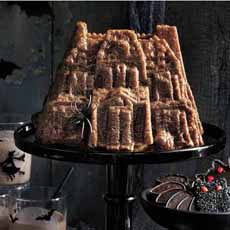 Haunted House Cake - Nordicware