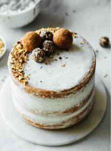 Hazelnut Layer Cake Recipe