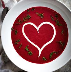 Valentine Beet Soup