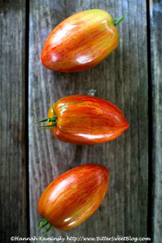 Heirloom Plum Tomatoes