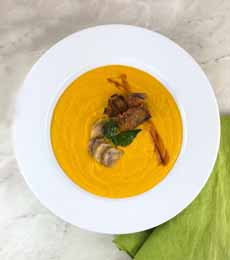 Carrot Soup With Balsamic