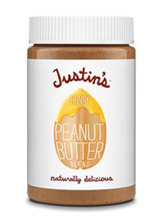 Justin's Honey Peanut Butter Jar