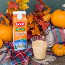 Hood Pumpkin Eggnog