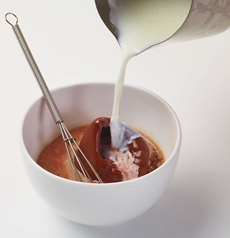 Hot Chocolate Made From Solid Chocolate