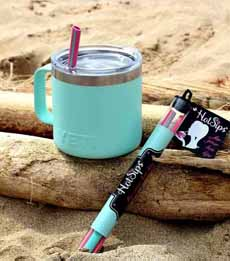 Hot Sips Reusable Straws