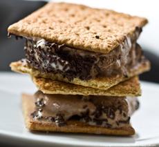 Ice Cream S'mores